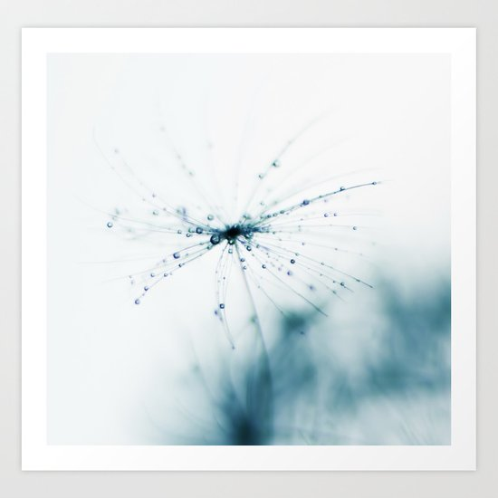 fairy lights - dandelion Art Print