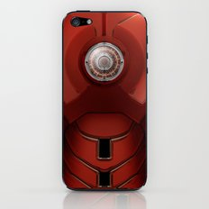 iron man v.1 iPhone & iPod Skin