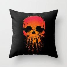Skullset Throw Pillow