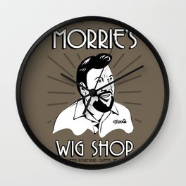 Goodfellas, Morrie's Wigs Shop Sign  Wall Clock