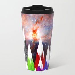Abstract Sky Travel Mug