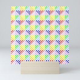 symmetric patterns 112 – multicolor Mini Art Print