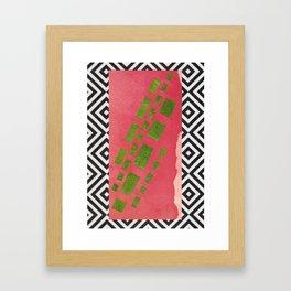 NATURE'S CARPET Framed Art Print