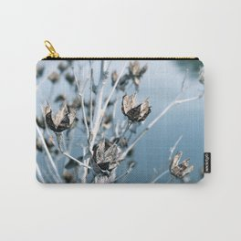 Winter Seed Pods Carry-All Pouch