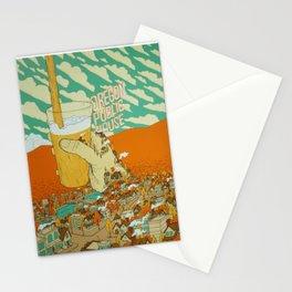 Oregon Public House Poster - 14 Stationery Cards