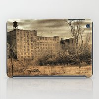 cityscape iPad Cases featuring Cityscape by The Strange Days Of Gothicrow