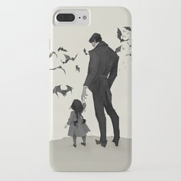 Father Daughter Time iPhone Case