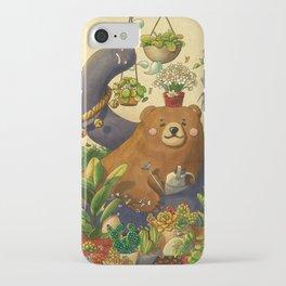 Garden Bear iPhone Case