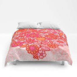 Folk Heart Comforters