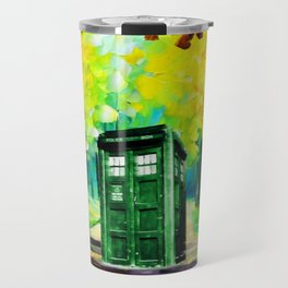 PAINTING TARDIS Travel Mug