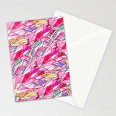Crystal pattern Stationery Cards