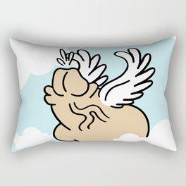 Winged Chub Rectangular Pillow