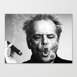 Jack Nicholson Cigar Canvas Print