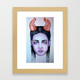 Lovely Beasty Framed Art Print