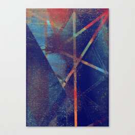 falling to earth Canvas Print