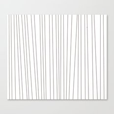 striped blanket Canvas Print