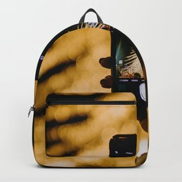 The Golden Christmas Tree (Color) Backpack