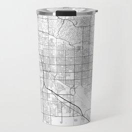Minimal City Maps - Map Of Tucson, Arizona, United States Travel Mug