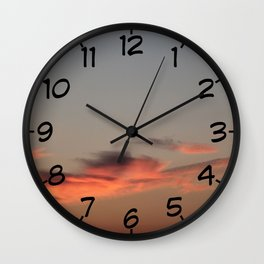 Come fly with me - Irish Midsummer Evening IV Wall Clock