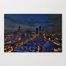 The City Of Big Shoulders Canvas Print