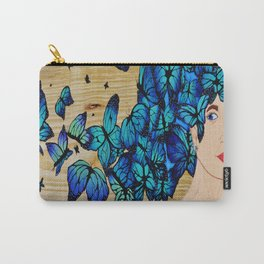 Free To Be Me, Hair Series Carry-All Pouch