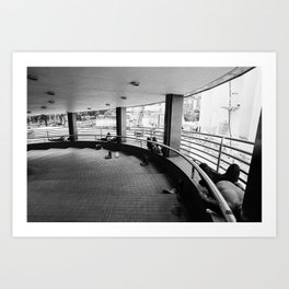Hong Kong Siesta Art Print