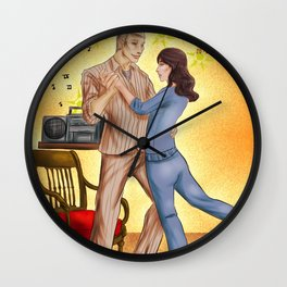 Hannibloom - Dancing Wall Clock