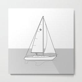 Islander 36 (horizon) Metal Print