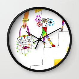 Sheri (stair series) Wall Clock