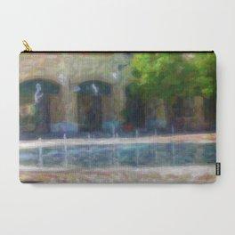 Paesaggio con fontana Carry-All Pouch
