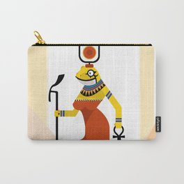 Heqet - Egyptian Goddess of Fertility Carry-All Pouch