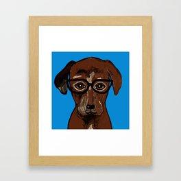 For the Love of Labs. Framed Art Print