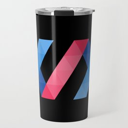 polymer javascript framework library  sticker polymerjs sticker Travel Mug