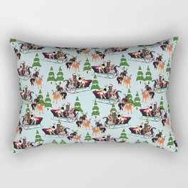 Holiday Sled Rectangular Pillow