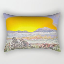 African Sun Family Rectangular Pillow