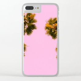 Palmy Skies Clear iPhone Case