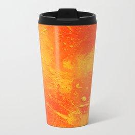 Abstract painting print Metal Travel Mug