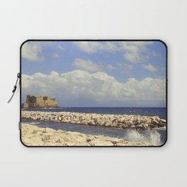 Napoli. Castel dell'Ovo Laptop Sleeve