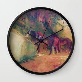 Bequest of Miss Adelaide Milton de DeGroot - Paul-Albert Besnard Wall Clock
