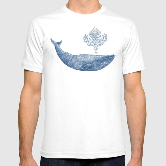 The Damask Whale  T-shirt