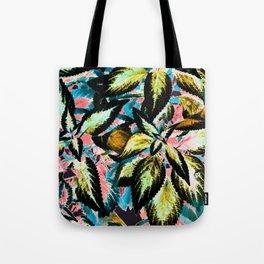 Tropical Leaf Jungle Tote Bag