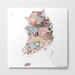 South Korea Metal Print