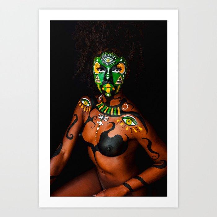 Tribe - Maconnie Art Print