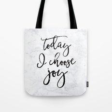 Choose Joy - Marble Tote Bag