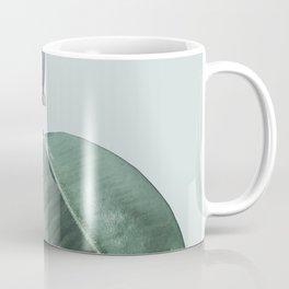 Ficus Elastica #22 #LightGreen #foliage #decor #art #society6 Coffee Mug