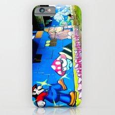 Graffiti under the bridge (Mario Bros). Slim Case iPhone 6s