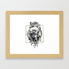 Ad infinitum - terra Framed Art Print