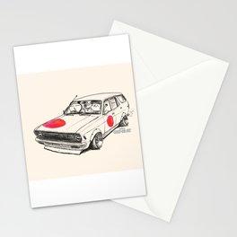 Crazy Car Art 0174 Stationery Cards