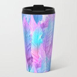 Mermaid Colored Leaves Vibes #1 #decor #art #society6 Travel Mug