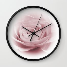 Lilac Whisper Wall Clock